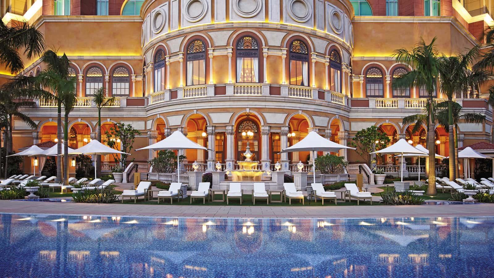 Pool for wedding