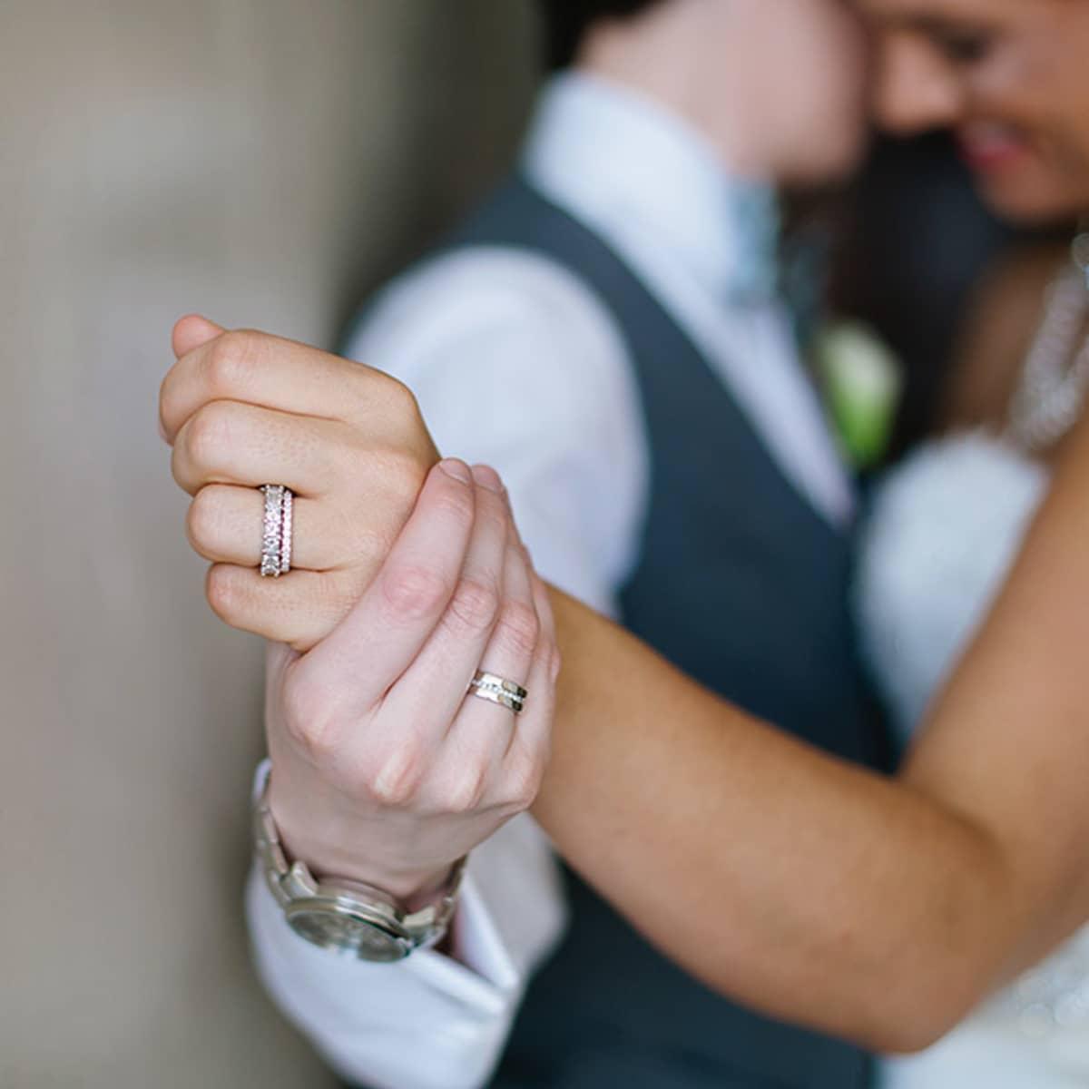modern wedding baltimore modern wedding rings Modern wedding bands