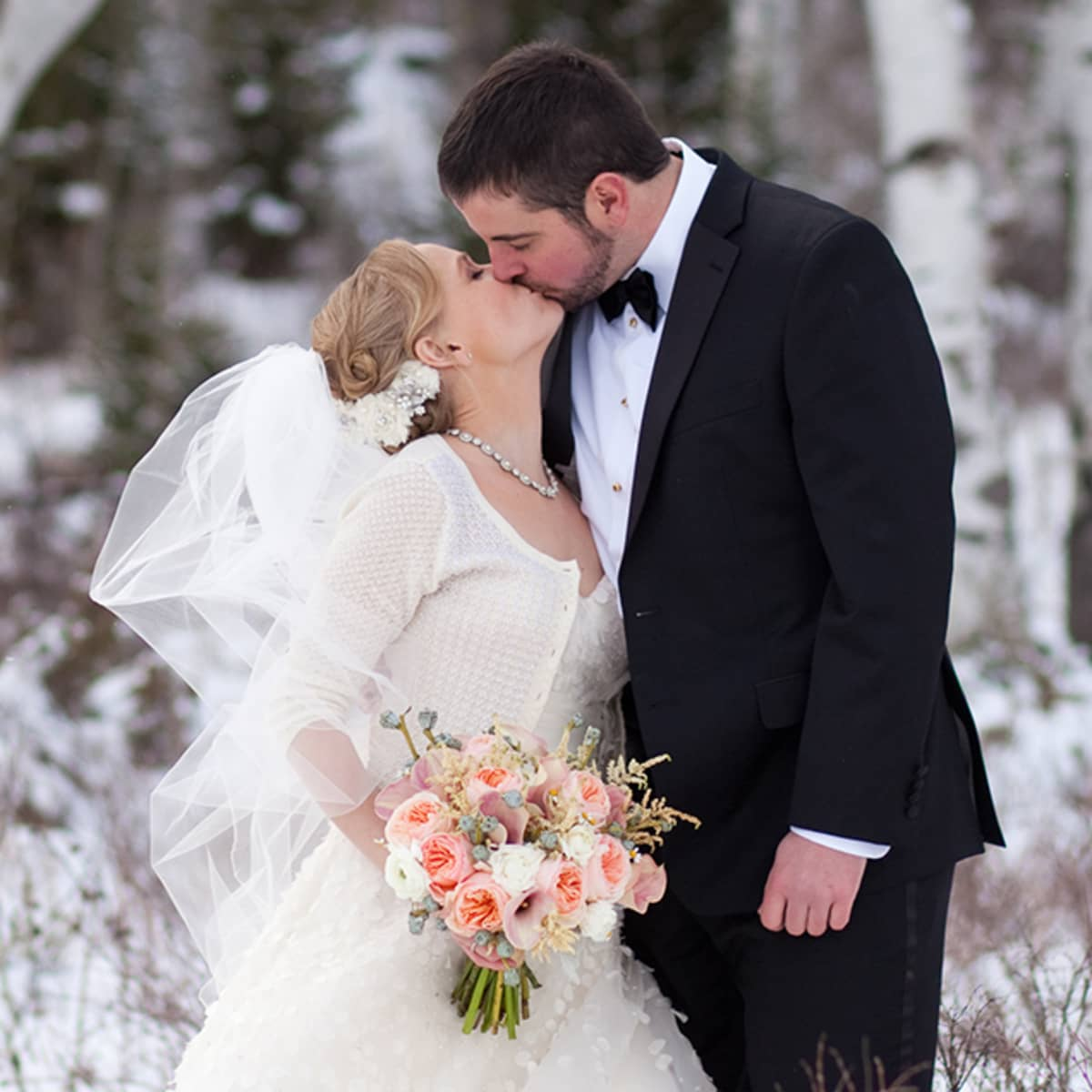 Which christmas gown ideas with holed - A Practice Kiss