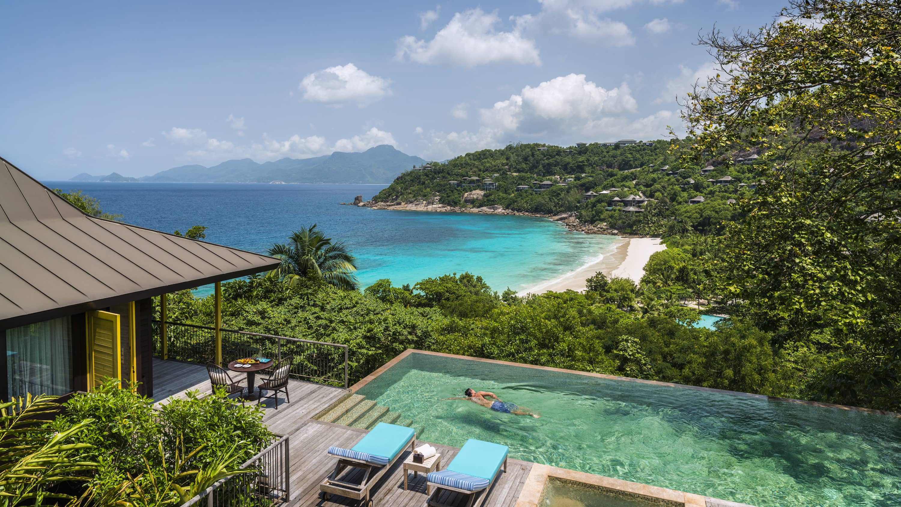 Pool at Four Seasons Seychelles