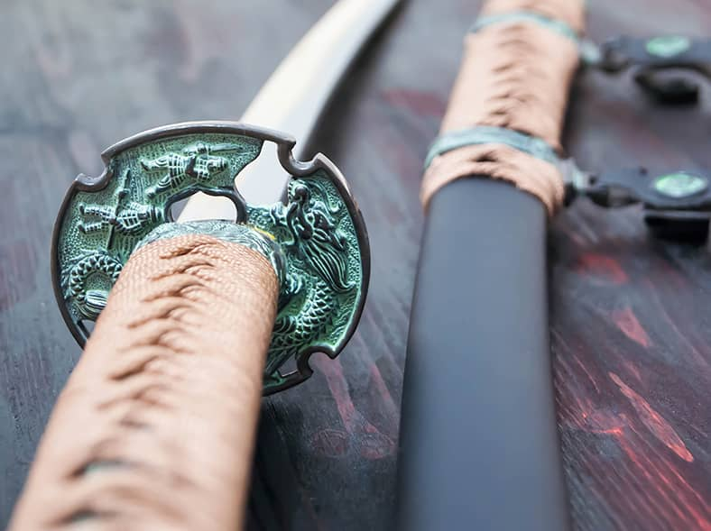 Learn the secrets of samurai swordfighting from a master.