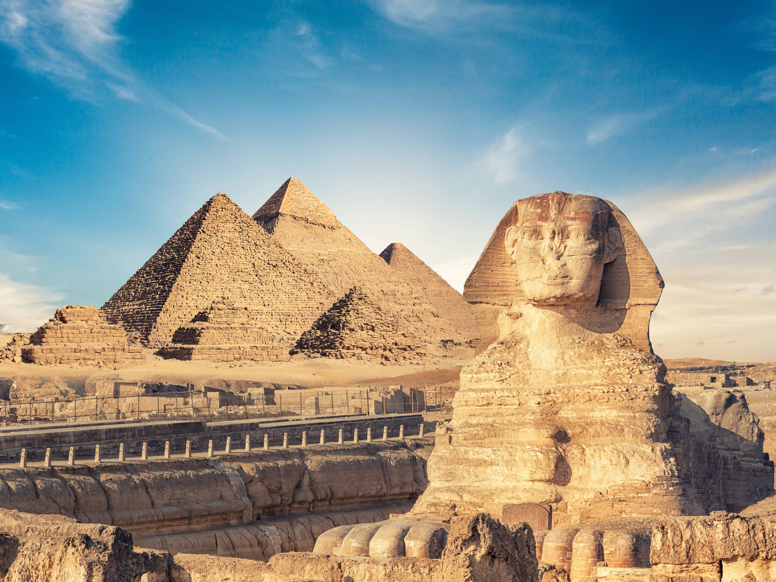 Visit the Iconic Pyramids of Giza on a Day Trip