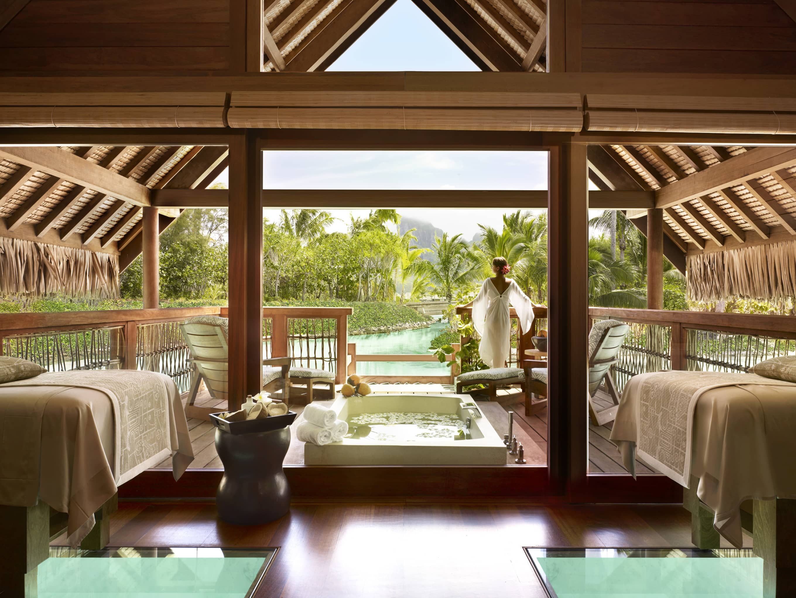 Unwind in the Resort's holistic spa