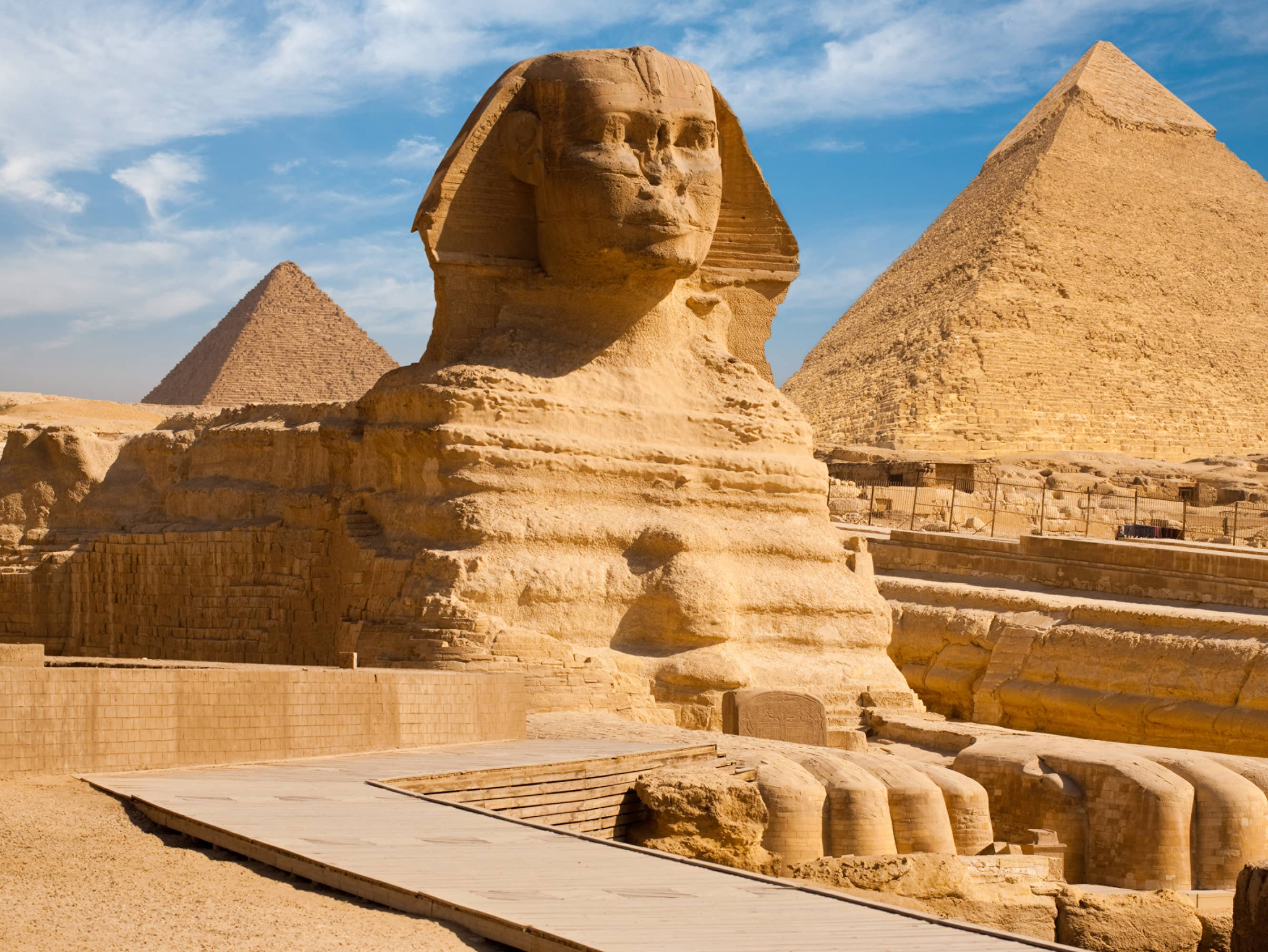 GAZE UP AT THE ENIGMATIC SPHINX