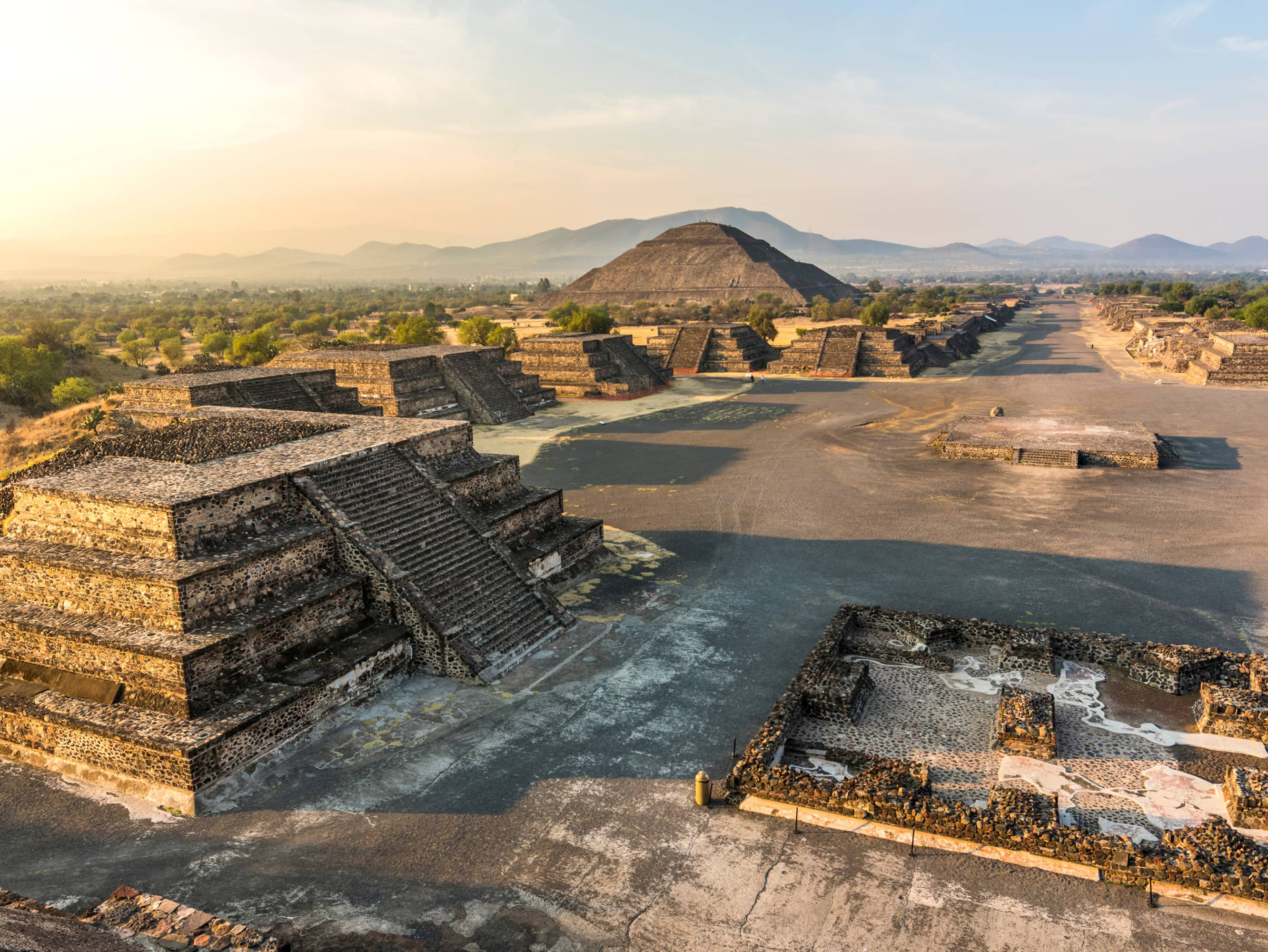 Visit the Teotihuacan Pyramids