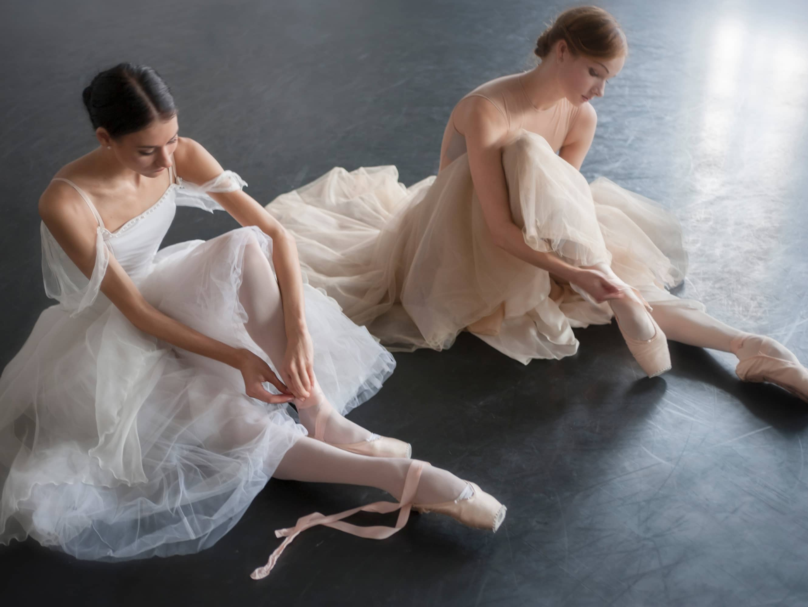 Go behind the scenes at the ballet