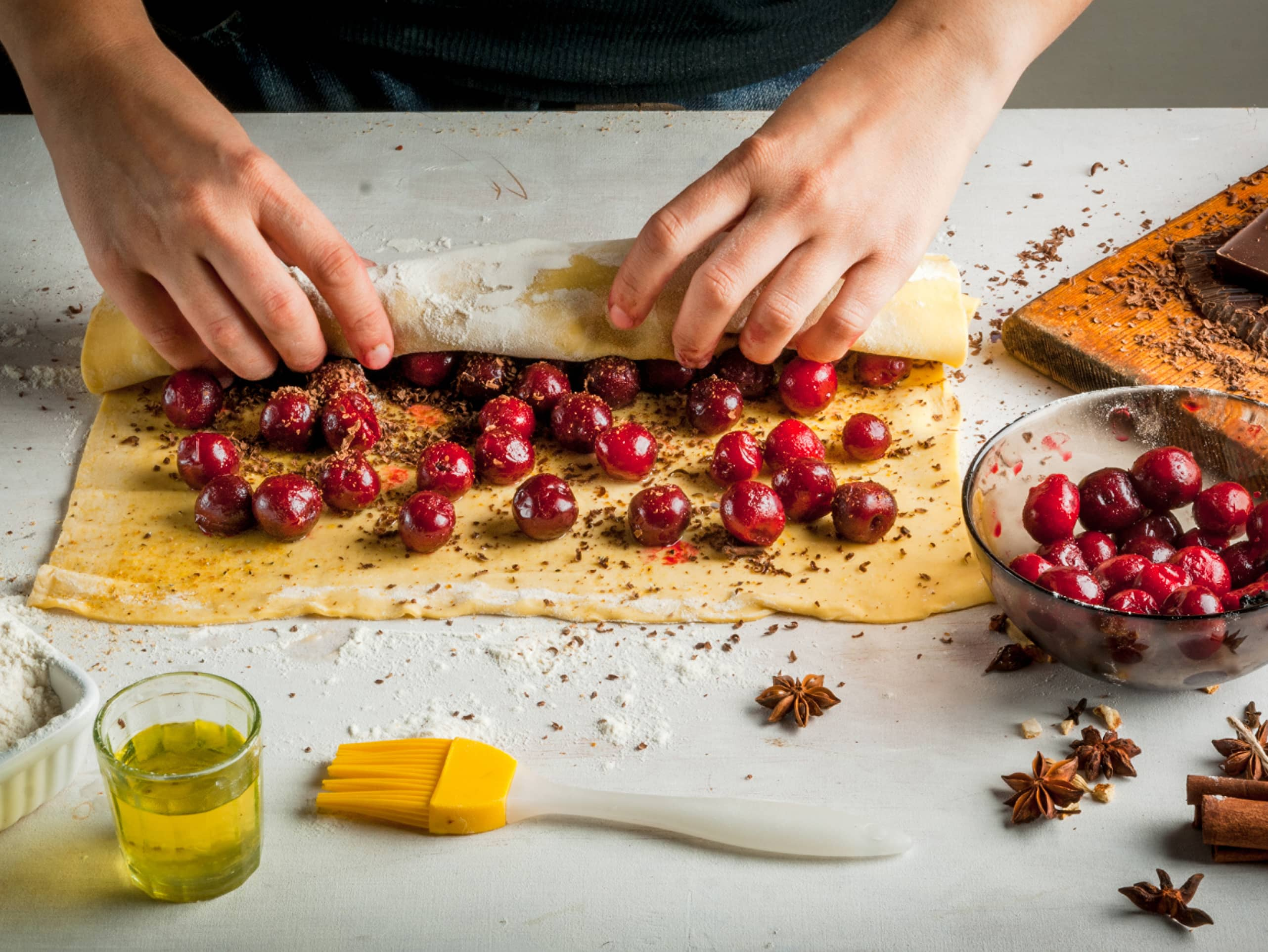 Learn the secrets of making strudel