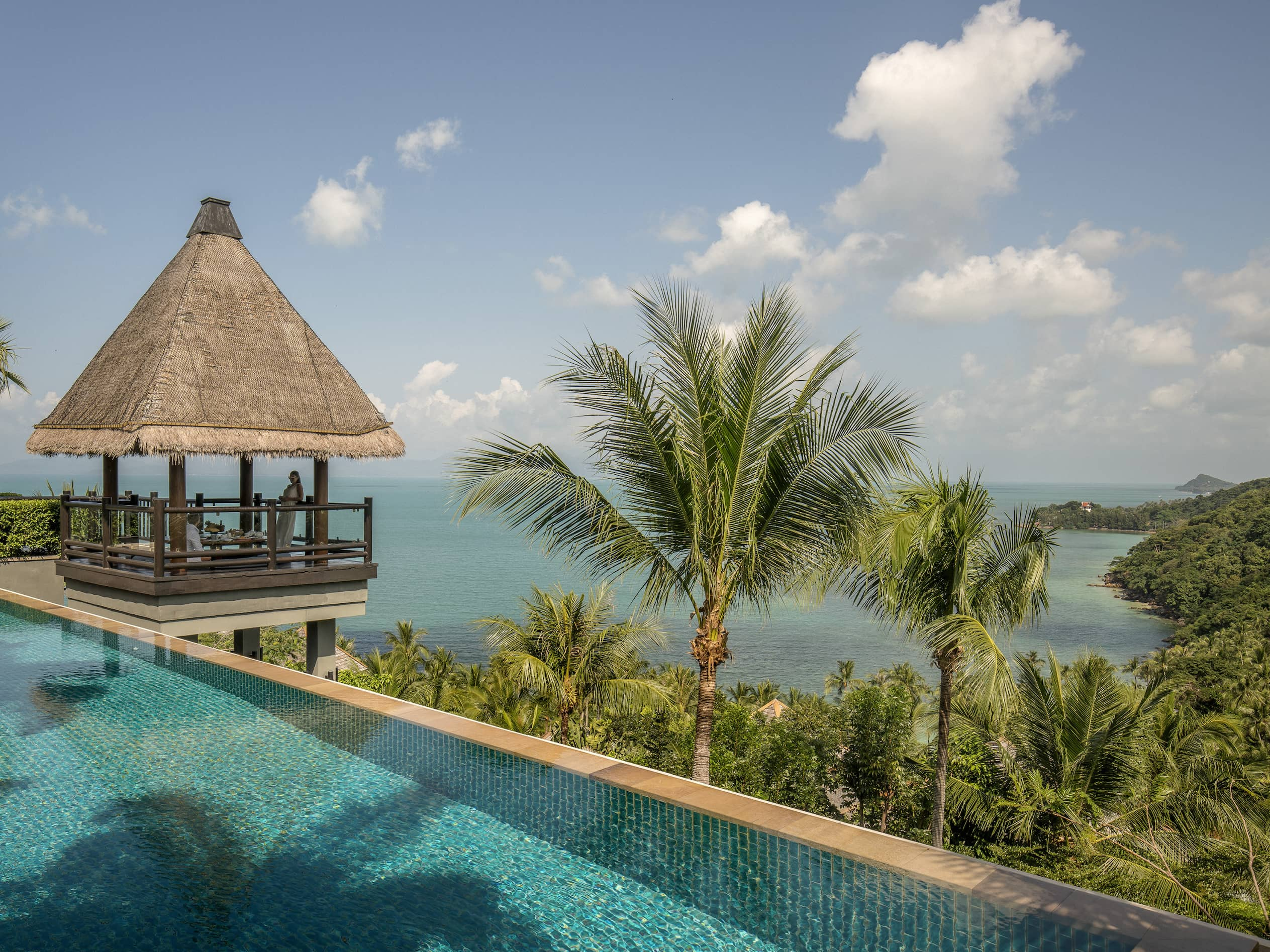 Relax on the palm-fringed beaches of Koh Samui