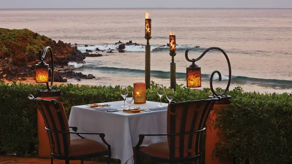 Four Seasons Maui In Room Dining
