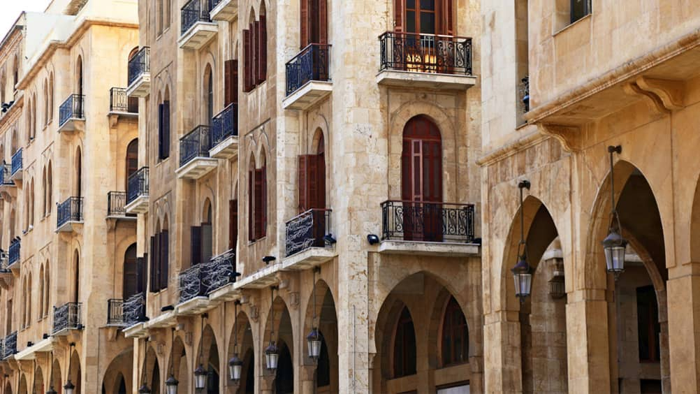 Things to do in beirut central district four seasons for Architecture maison traditionnelle libanaise