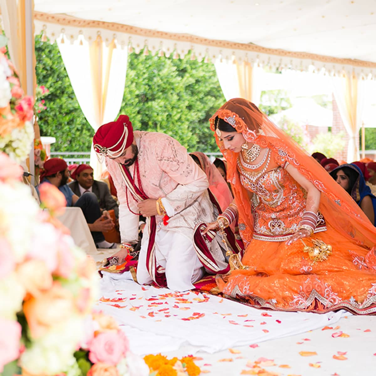 Indian Wedding In Los Angeles Four Seasons Hotel Beverly Wilshire