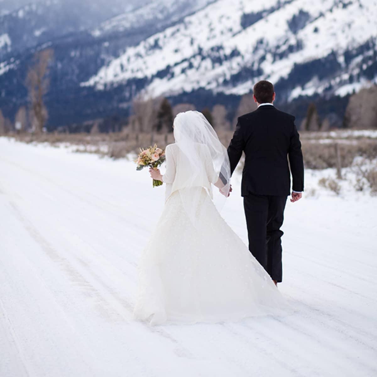 Jackson Hole Winter Wedding   Four Seasons Resort & Residences