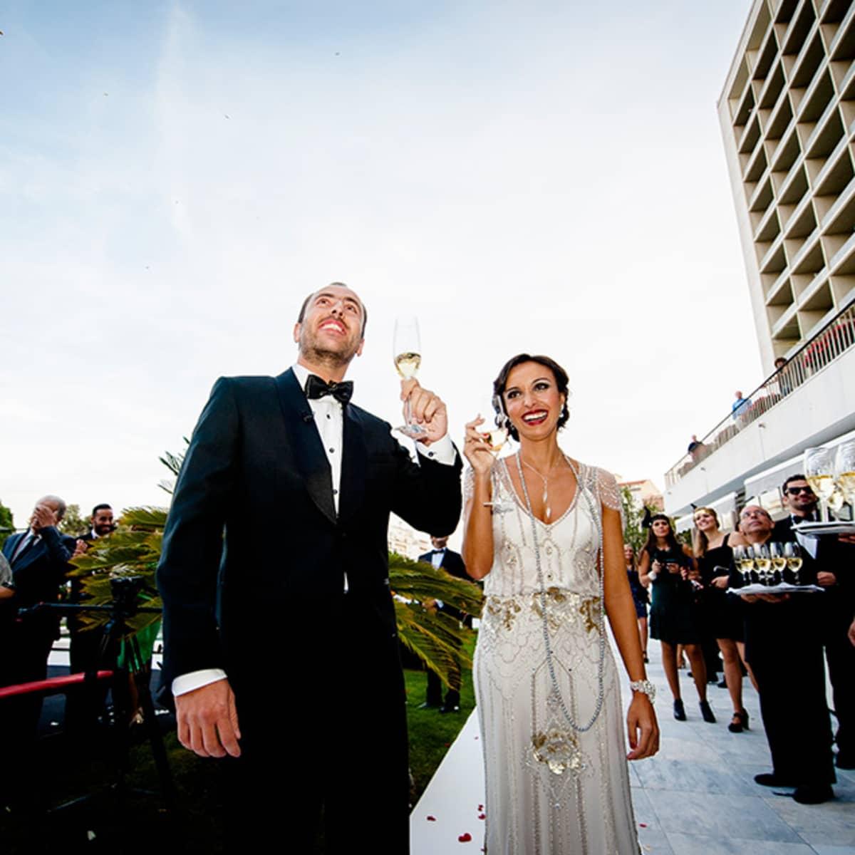 Great Gatsby Wedding in Lisbon | Four Seasons Hotel Lisbon