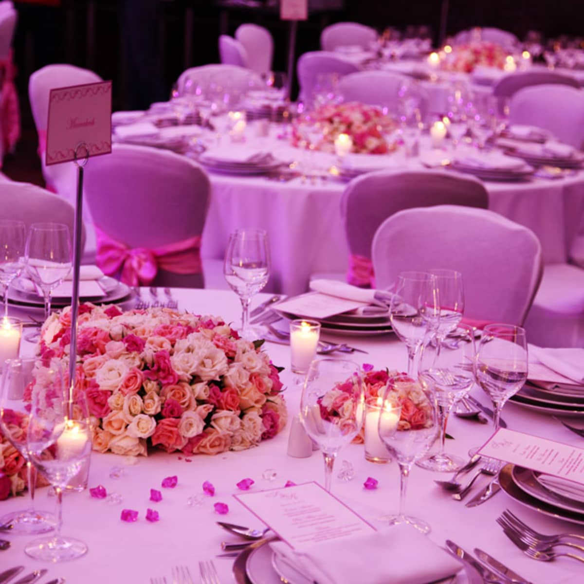 Sophia And Kelly Choose A Colour Palette Of Cream Peach Fuchsia For The Reception