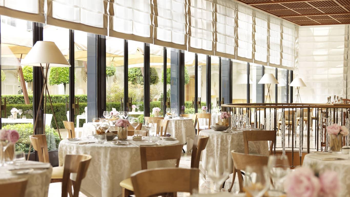 意式休闲餐厅| La Veranda餐厅| 米兰四季酒店
