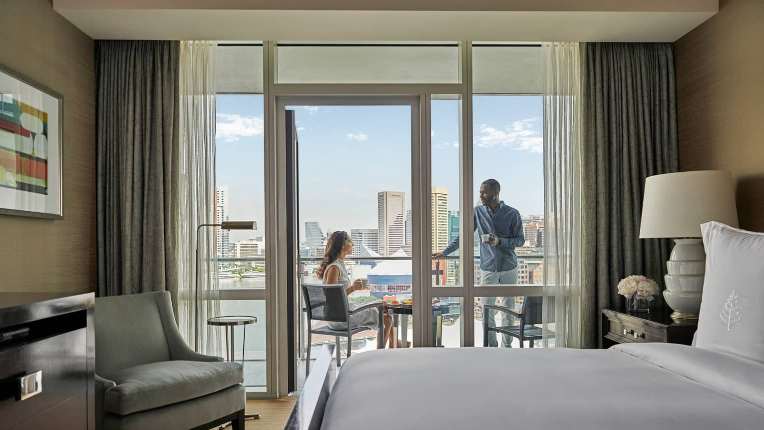Baltimore Hotel Suites | Luxury Room Accommodations | Four Seasons