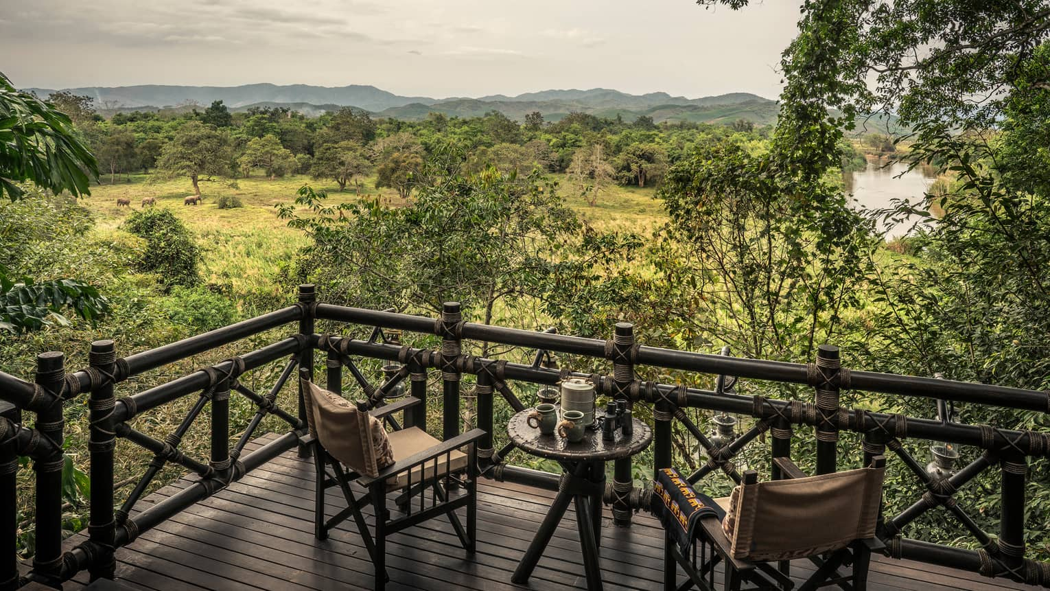 Luxury Camping In Thailand Four Seasons Golden Triangle
