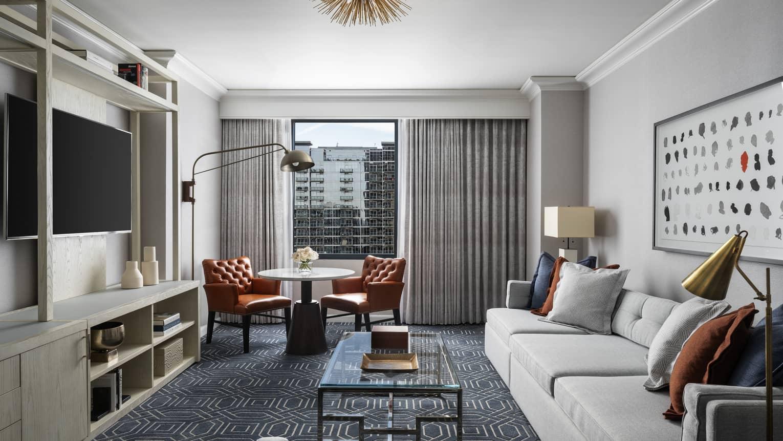 Two-Bedroom Hotel Suite In Atlanta