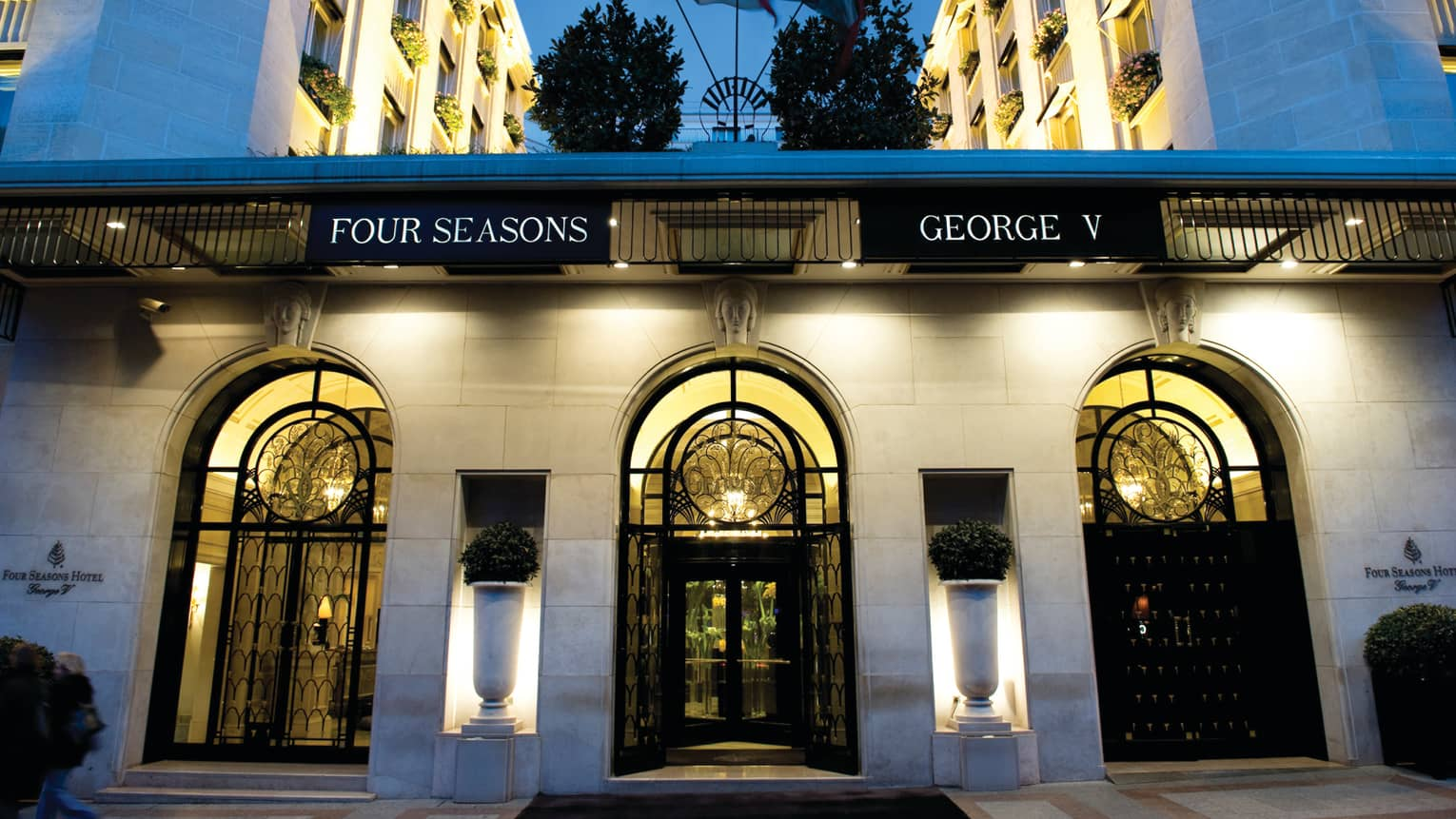 Image result for Four Seasons Hotel George V paris