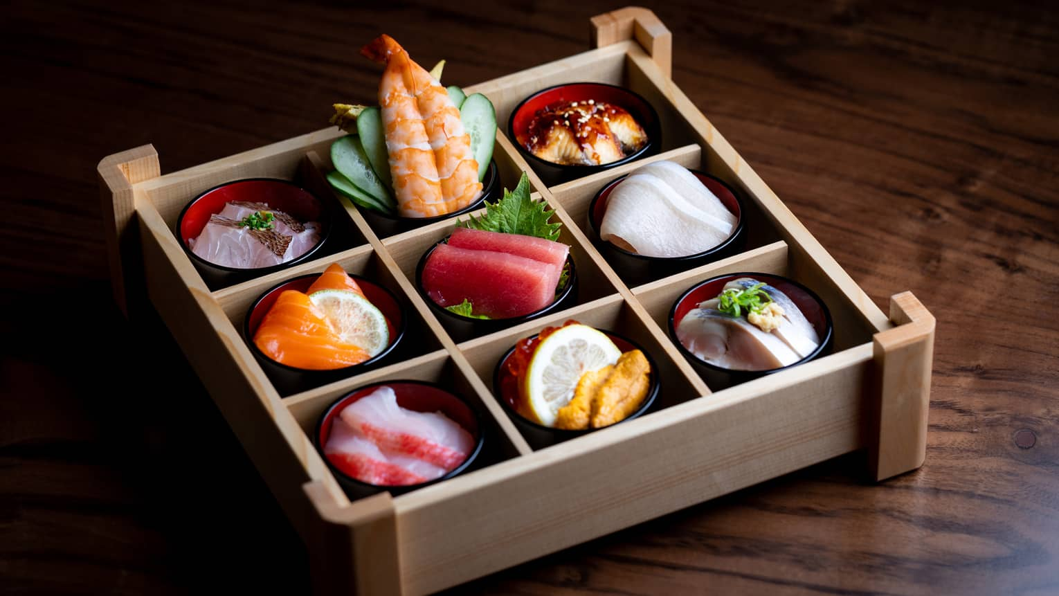 Onyx dream box from Onyx restaurant