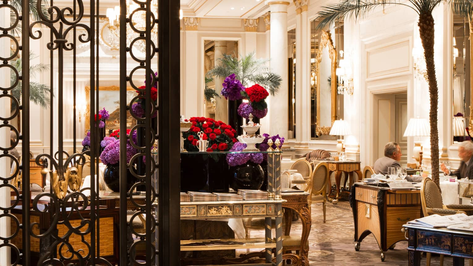 Le Cinq Michelin Star Restaurant Paris Fine Dining In