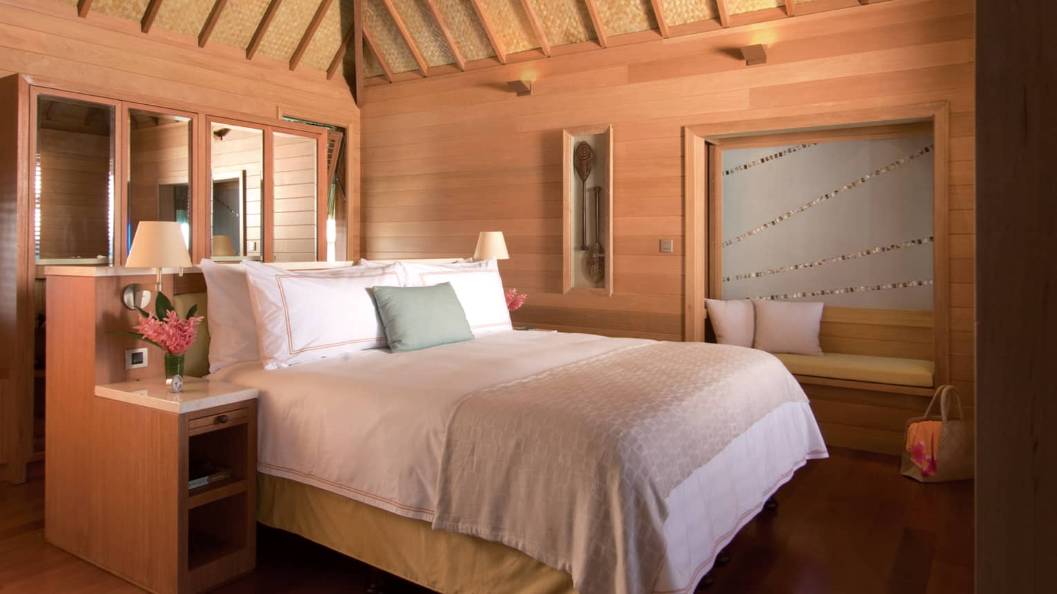 Overwater Bungalow Suite Mountain View Four Seasons