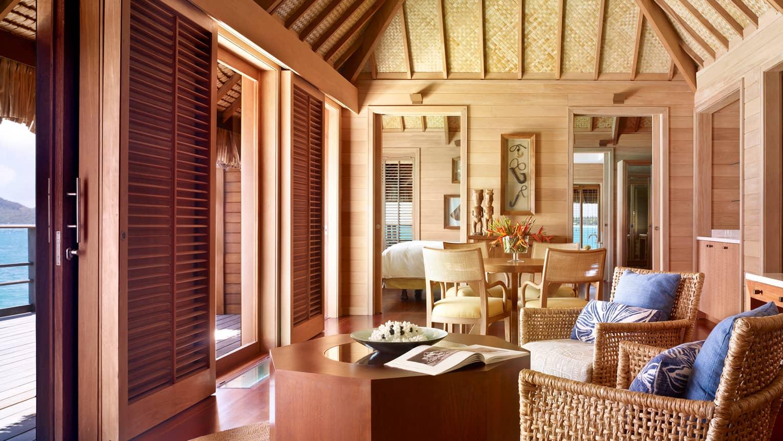 Bora Bora Overwater Bungalow Suite One Bedroom Four