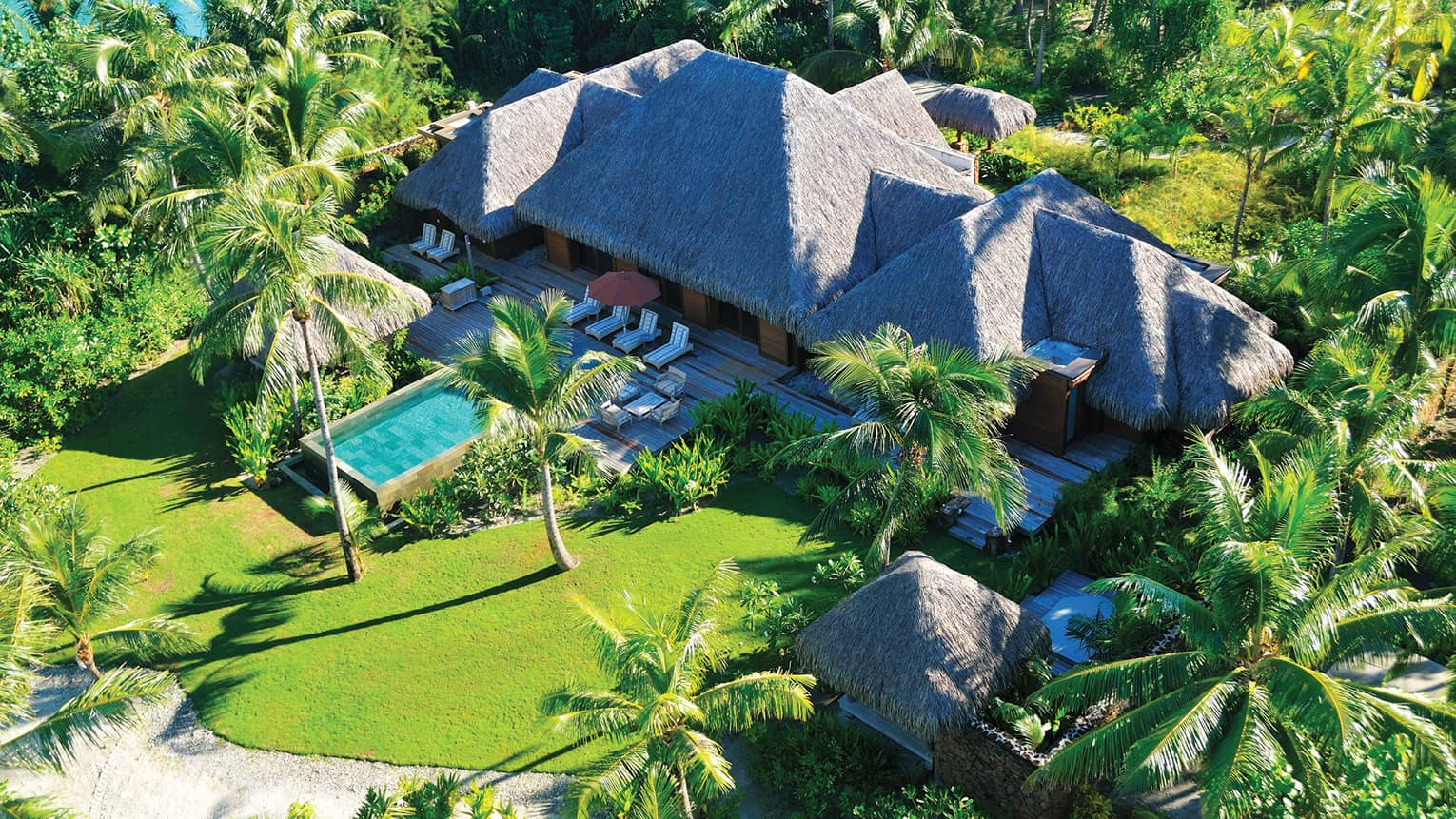 Three-Bedroom Beachfront Villa