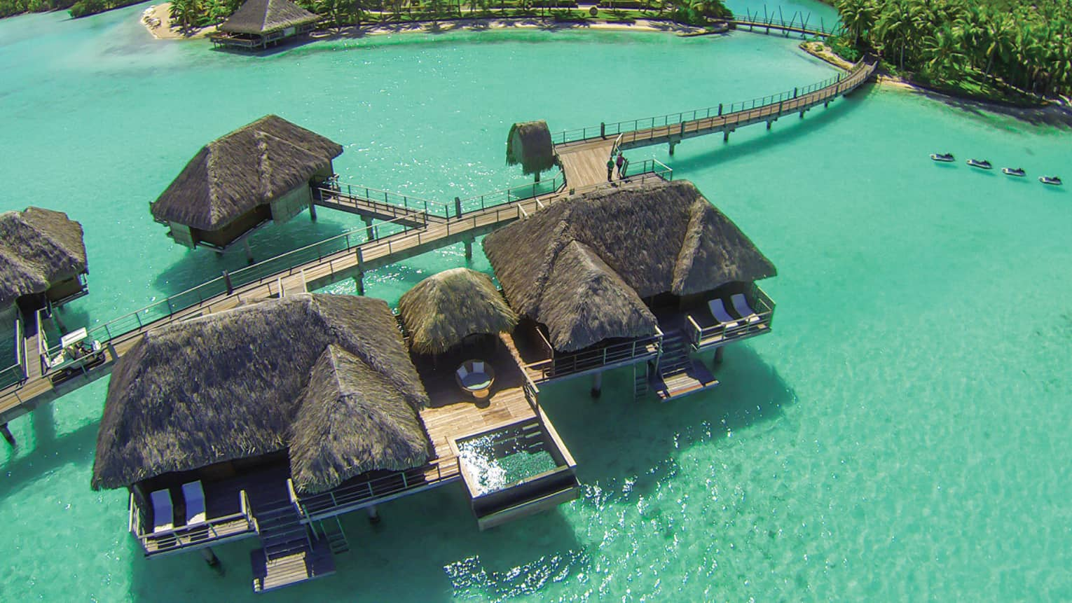 Two-Bedroom Overwater Bungalow Suite