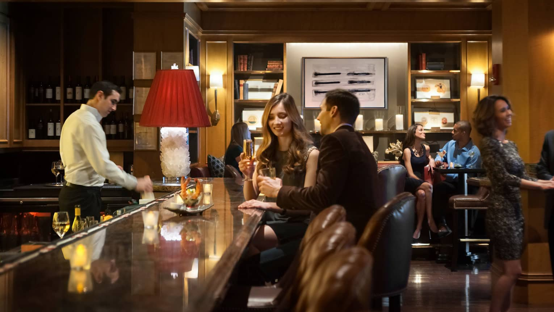 Fine Dining Boston Restaurants Bars Four Seasons Hotel