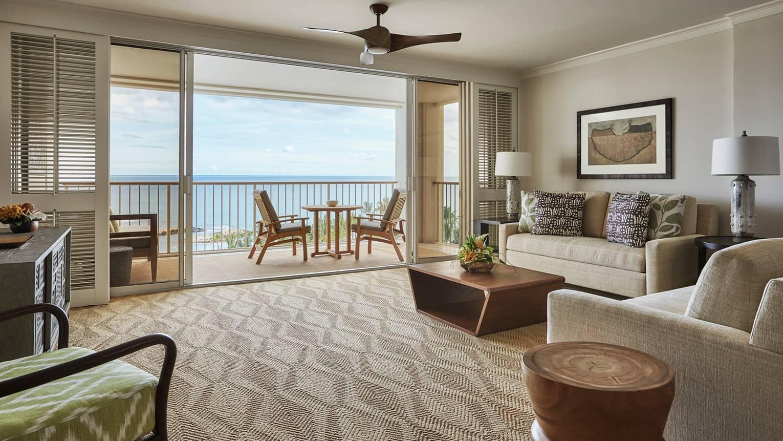 Prime Oceanfront One-Bedroom Suite