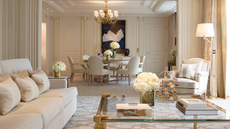 Presidential Suite Paris Four Seasons Hotel George V
