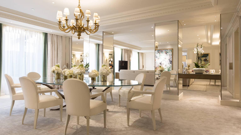 Royal Hotel Suite In Paris Luxury Hotel Four Seasons