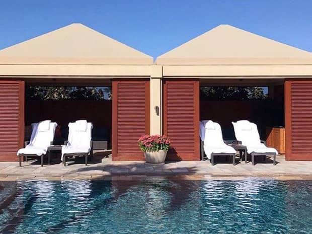 Serenity Pool Luxury Cabanas