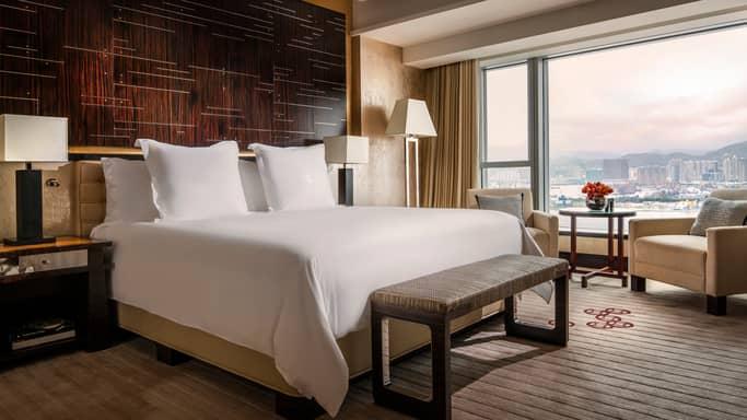 香港华丽海景酒店_香港海港酒店客房与套房 | 豪华 | 四季酒店
