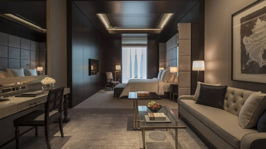 London luxury hotel 5 star hotel four seasons at ten for Building a four season room