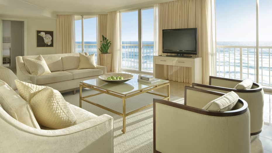 Deluxe Oceanfront Two-Bedroom Suite