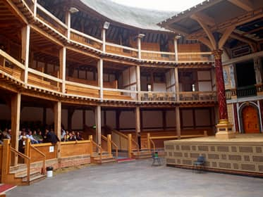 Go backstage at the Globe