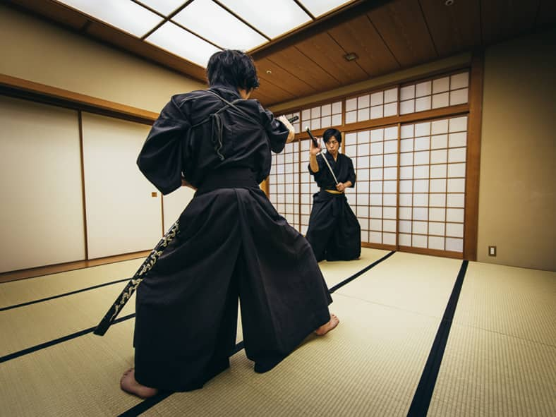 Learn the secrets of samurai sword fighting