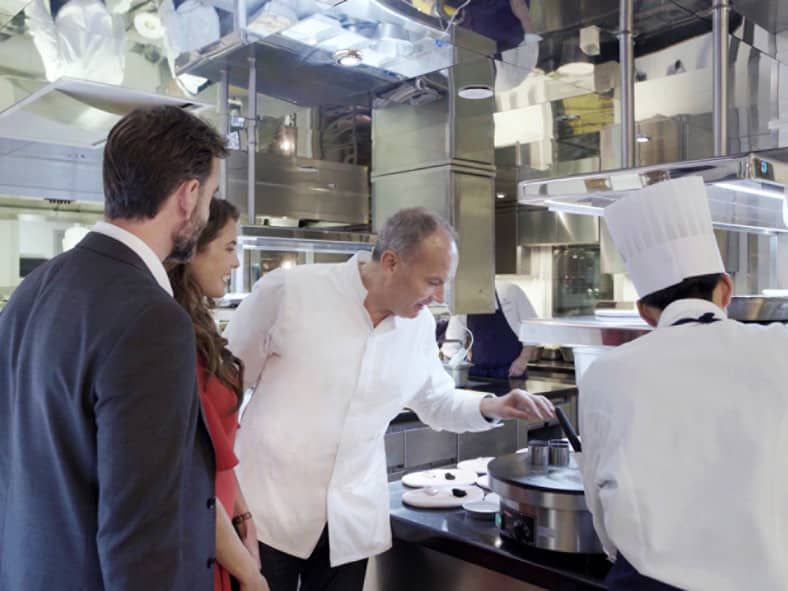 Go Behind the Scenes at Le Cinq