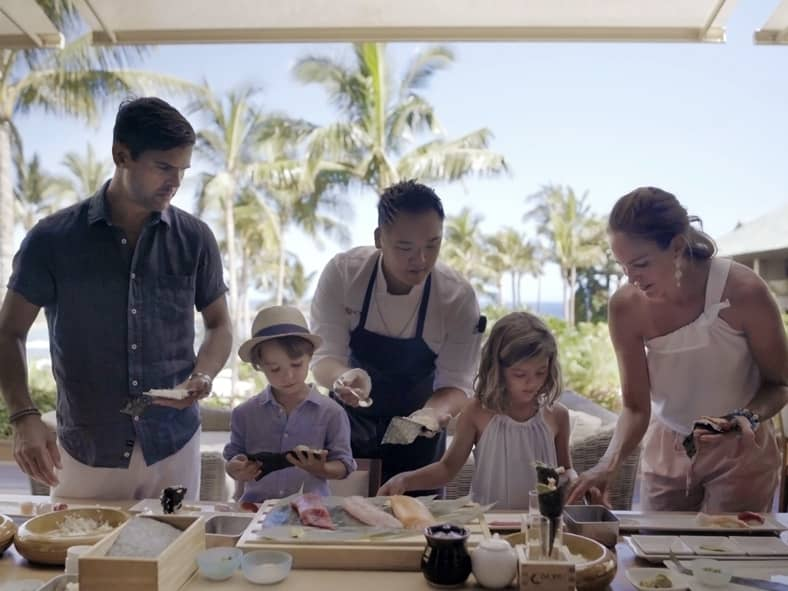 Roll Sushi With Nobu's Executive Chef