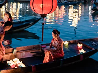 Participate in a lantern ceremony