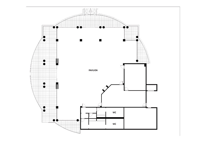 barcelona pavilion floor plan with dimensions pavilion pin barcelona pavilion floor plan dimensions image search