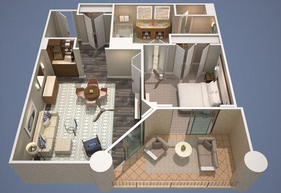 Ocean View Prime Four Seasons Executive Suite Four