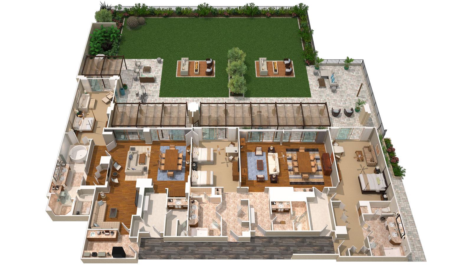 Lokelani presidential three bedroom suite four seasons maui - Total 3d home and landscape design suite ...