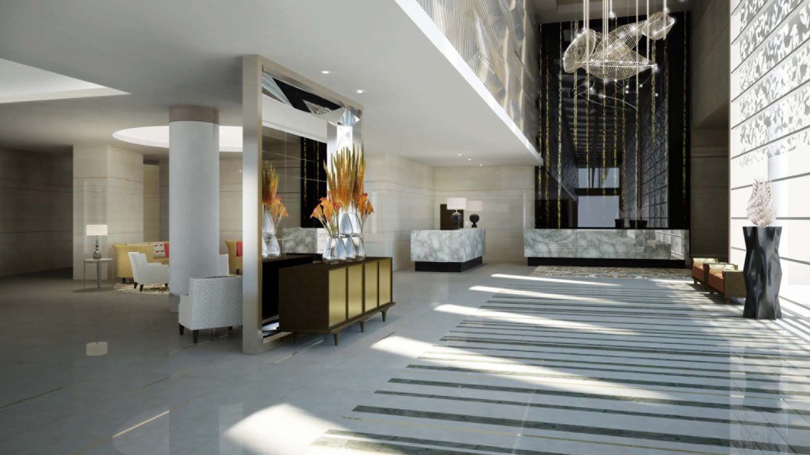 New four seasons hotel abu dhabi opens at al maryah island for 4 elements salon chicago