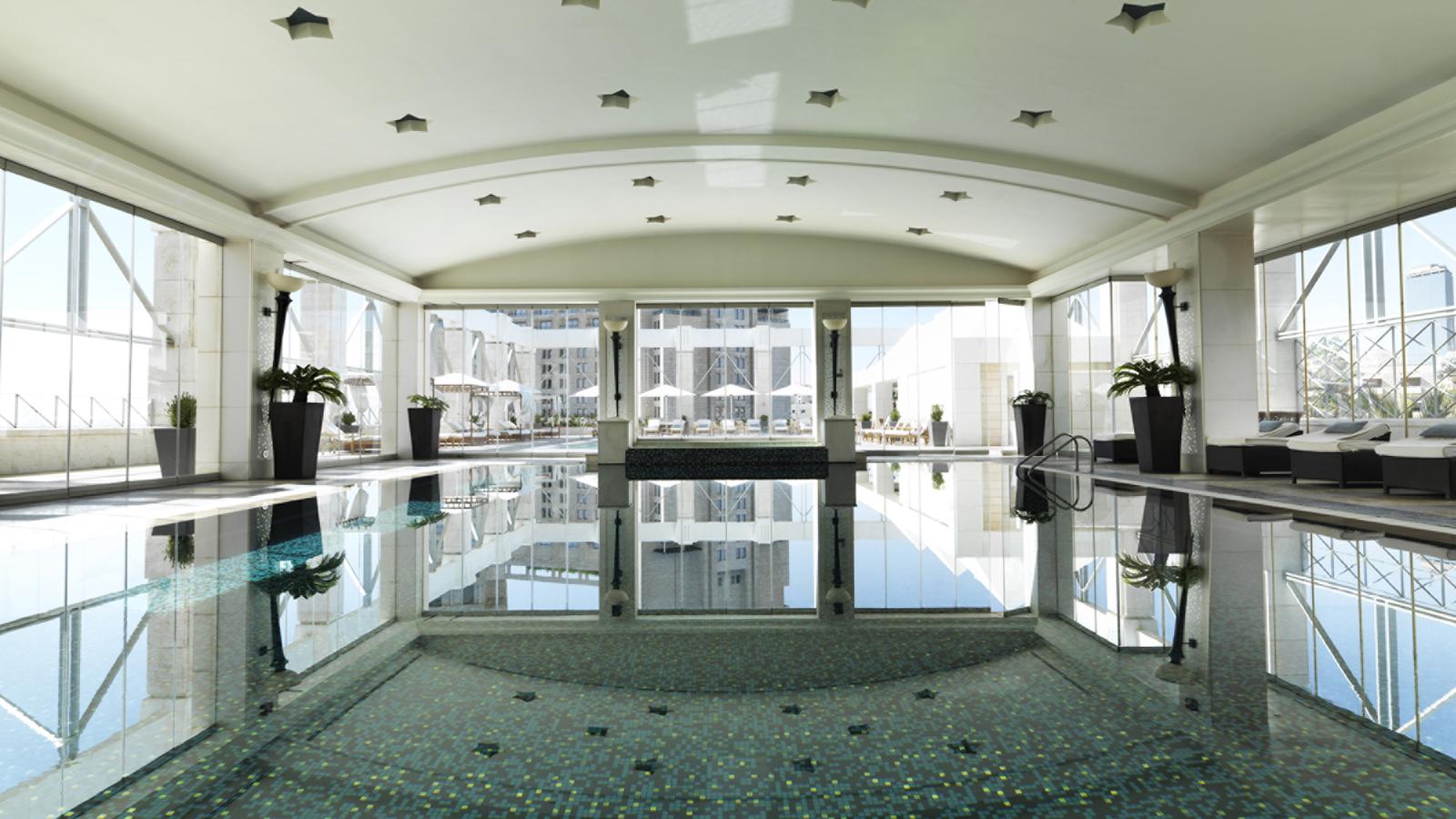 Indoor Pool Whirlpool Four Seasons Hotel Amman
