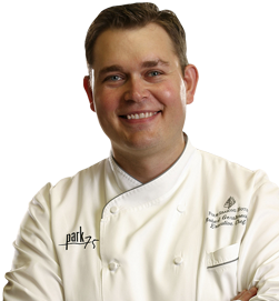 Executive Chef Robert Gerstenecker at the Restaurants at Four Seasons Atlanta
