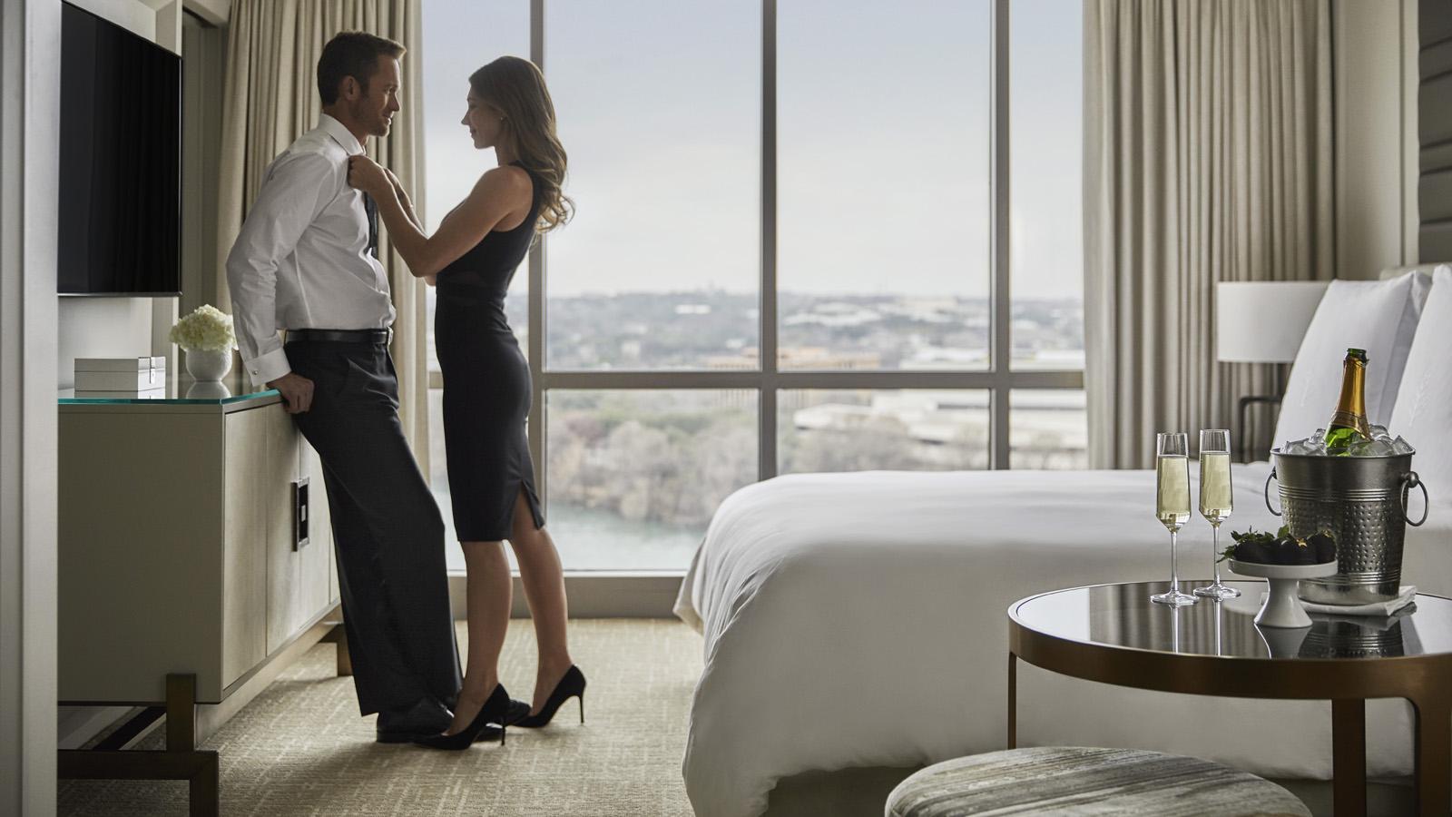любовные встречи в гостинице - 9