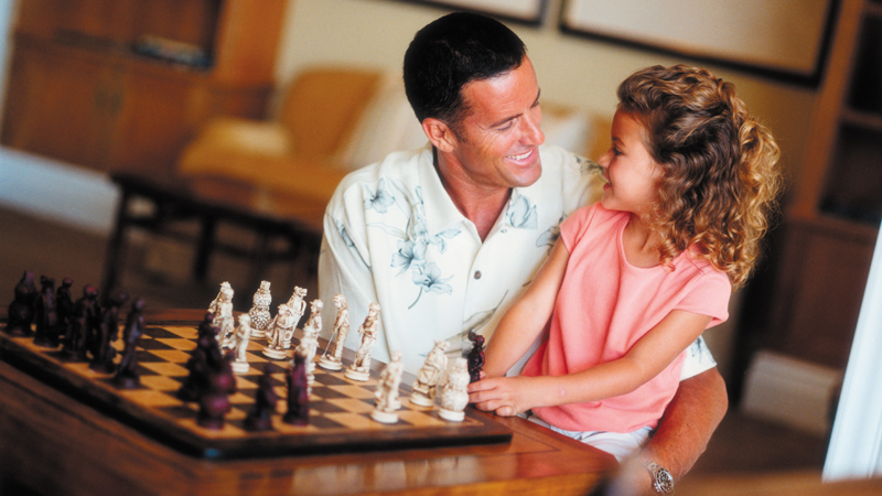 Indoor Family Games at Four Seasons Resort Mauritius at Anahita